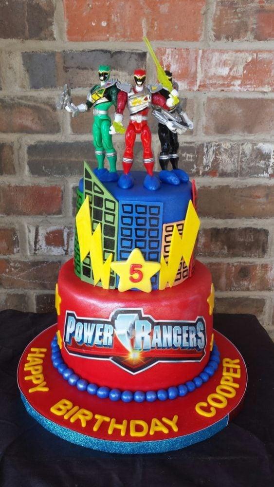 Power Rangers Birthday Cake | Power Ranger Party Ideas