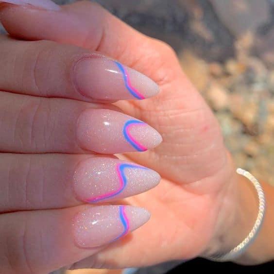 acrylic nail ideas for summer