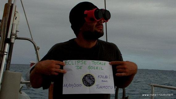 Éclipse totale de soleil Polynésie