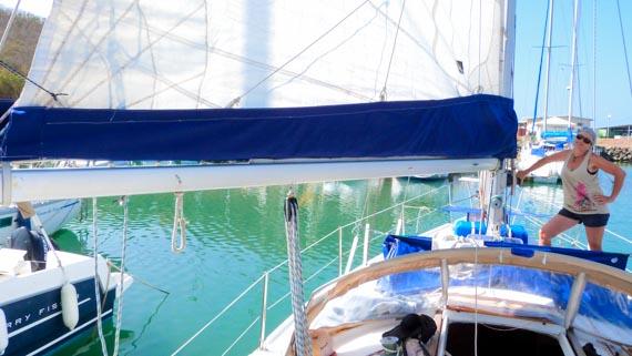 Notre nouveau Lazy bag - voilier FIDJI