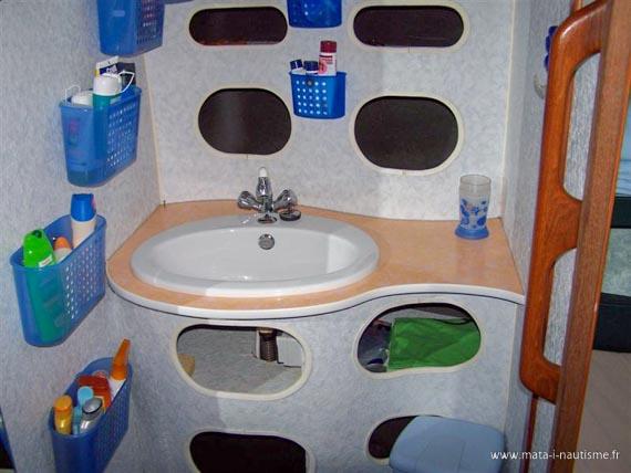 La salle de bain du Gin Fizz