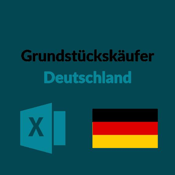 liste grundstückskäufer deutschland
