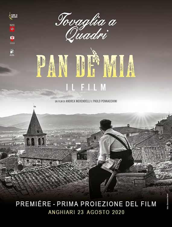 Premiére Film PAN DE' MIA - Tovaglia a Quadri 2020