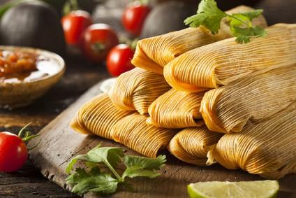 Mexikanische Küche: leckere Tamales