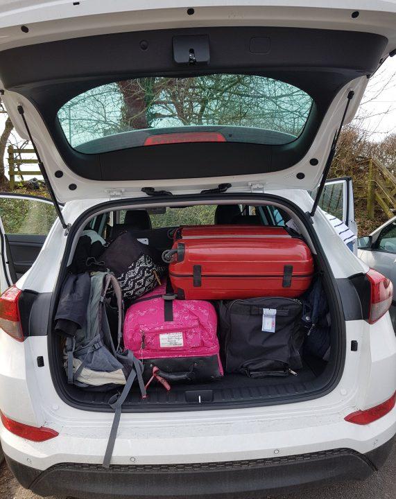 Kofferraum des Mietwagens AutoEurope