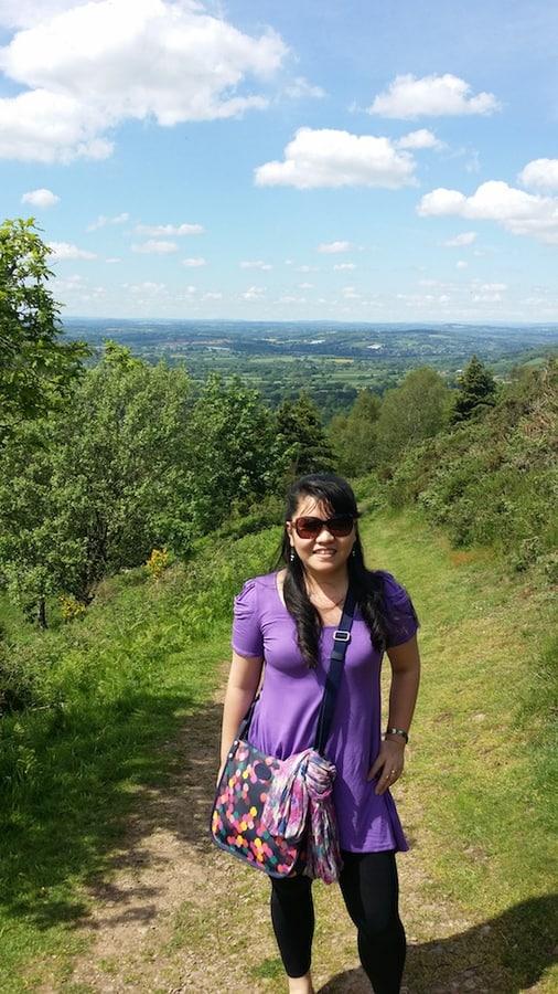 Malvern Hills in Worcestershire