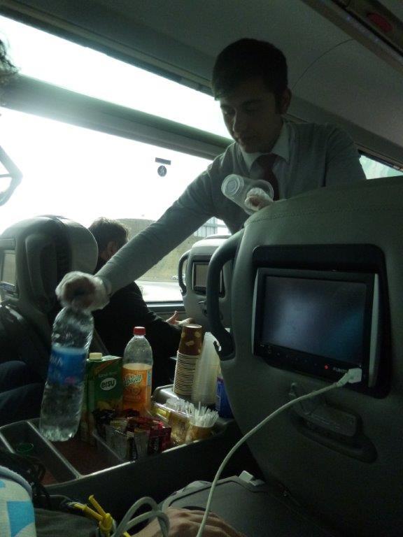 luxusní autobusy