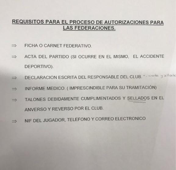 Requisitos Proceso de Autorizaciones
