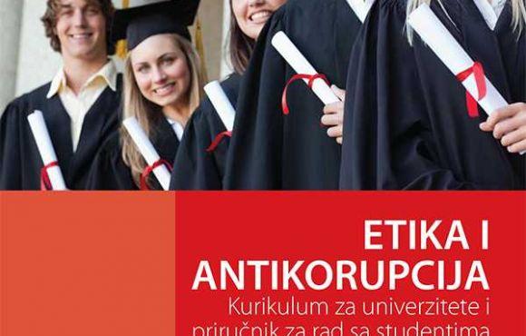 Želite znati više o korupciji i etici? Preuzmite naš priručnik! Kurikulum za univerzitete i priručnik za rad sa studentima (BOS)