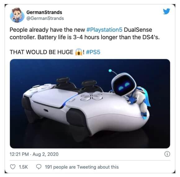 comando DualShock 5