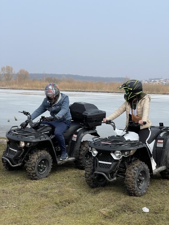 Катання на квадроциклі для двох у Тернополі
