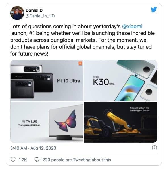Xiaomi Mi 10 TV