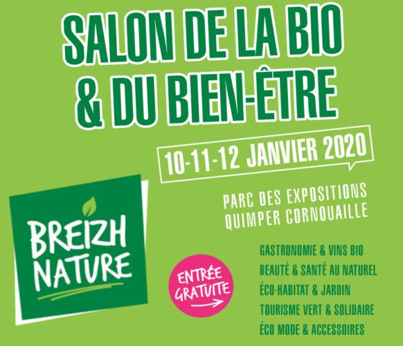 Salon de la bio et du bien être Breizh Nature Quimper