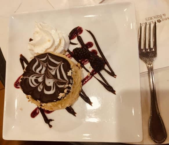 Boston cream pie at boston's parker house hotel