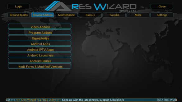 How to Install Kodi 18.3 Ares Wizard, and Get Pin using bit.ly/getbuildpin