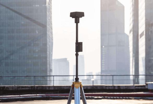 dron DJI Phantom 4 RTK stacja mobilna