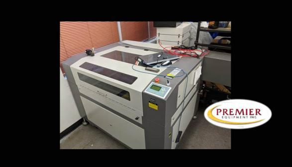 Boss HP-2436  Metal Laser Cutter/Engraver (2014)