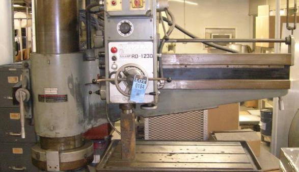 Sharp RD-1230 Radial Arm Drill