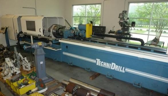 TechniDrill 6D-75-6-1A-PLC-96-INDXR Single Sp Gundrill