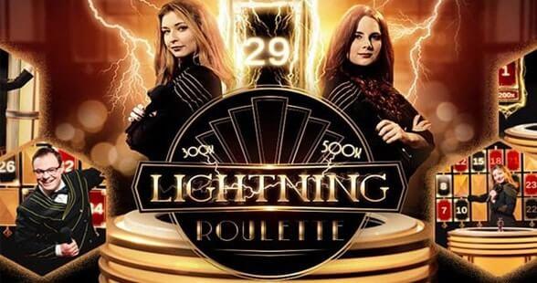 Lightning Roulette live casino spil