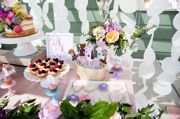 Birthday-Garden-Party-Dessert-Table