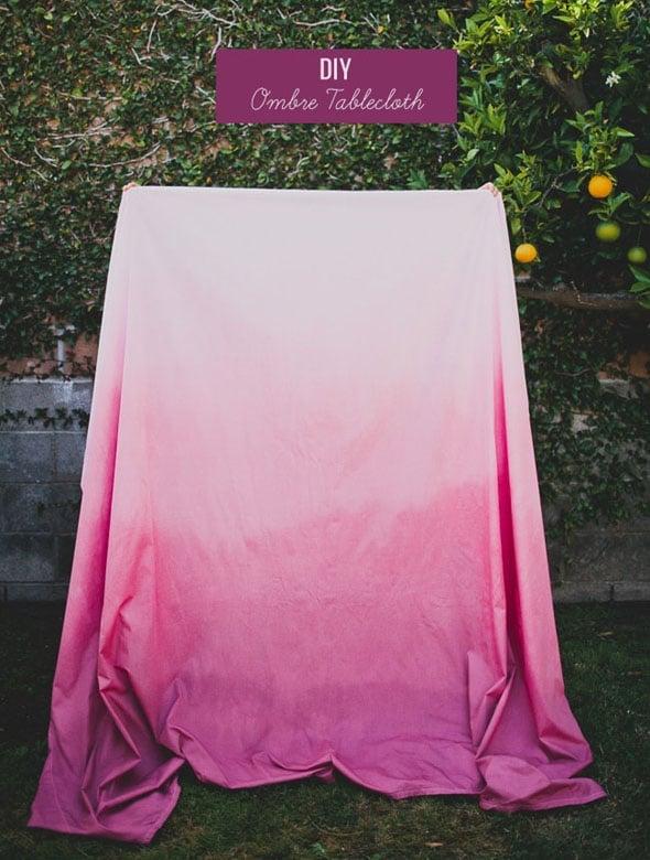 DIY-Ombre-Tablecloth