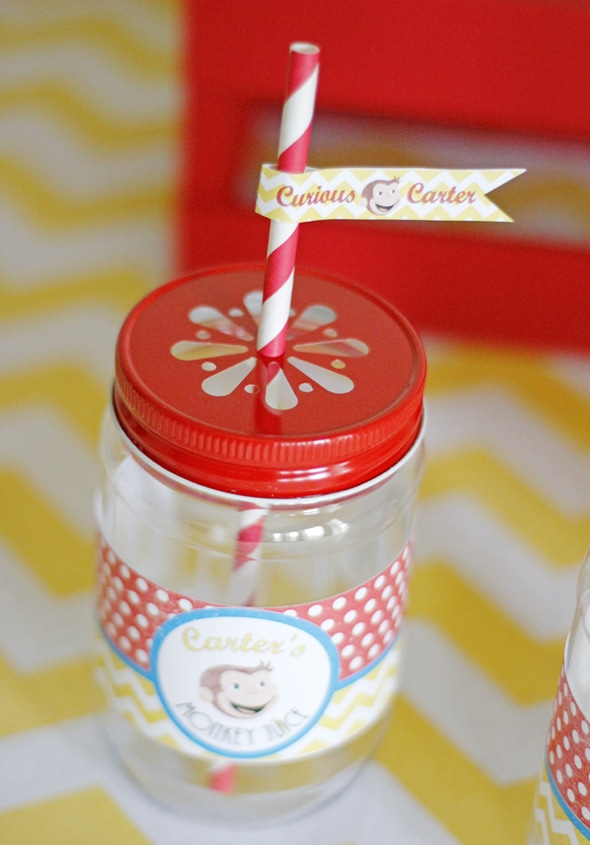 "Curious George Birthday ""Monkey Juice"" Drink"