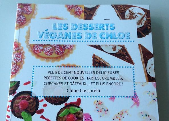 Livre : Les desserts véganes de Chloé