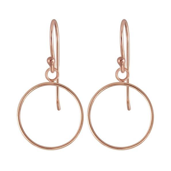 Wholesale Silver Circle Earrings