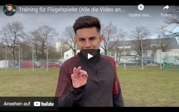 TRAINING FÜR FLÜGELSPIELER mit Hardi Höß