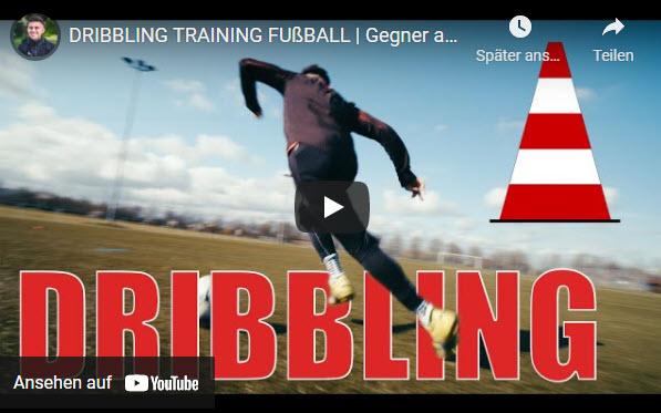 DRIBBLING TRAINING FUSSBALL mit Hardi Höß