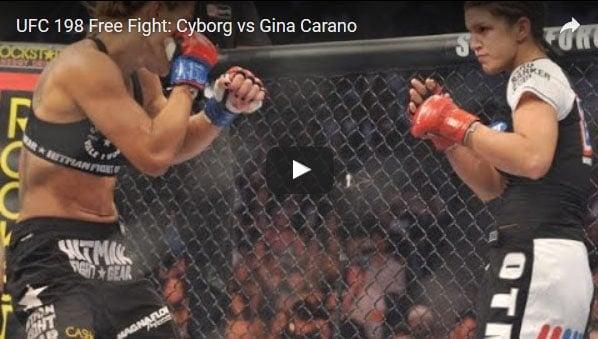 Cris Cyborg vs Gina Carano