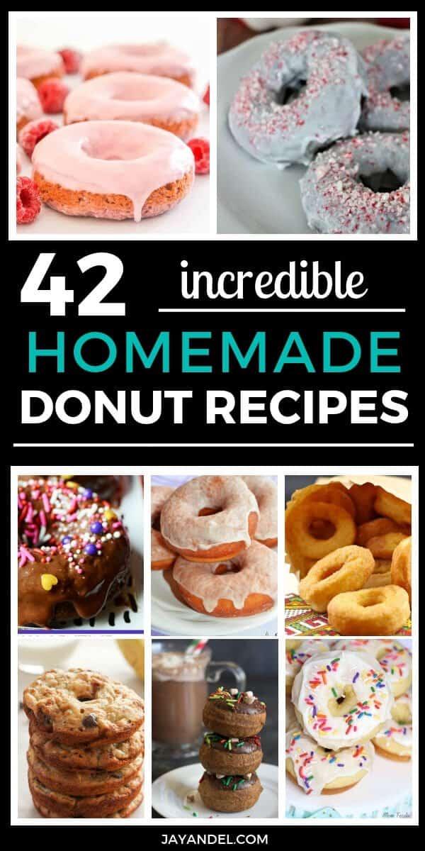42 incredible homemade donut recipes