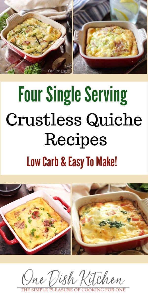 crustless quiche recipes   one dish kitchen