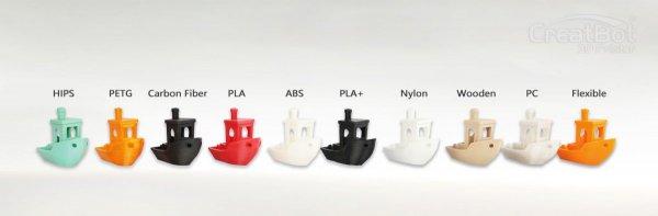 3D принтер CreatBot F160 изделия
