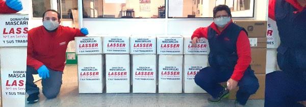 donacion-lasser-mascarillas-covid-19