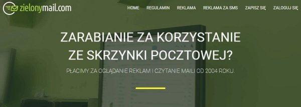 Zielony mail