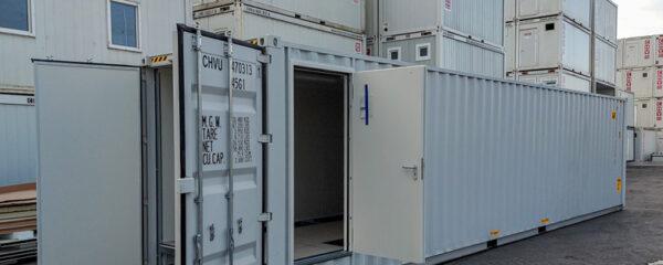 Technikcontainer für den Elektroanlagenbau