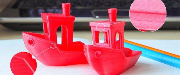3D принтер CreatBot DE точність друку