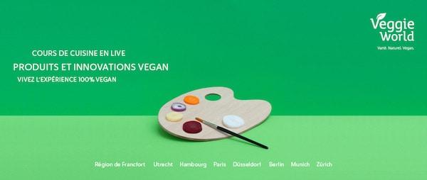 VeggieWorld Paris : rendez-vous les 2 et 3 avril 2016