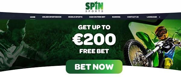 Spin Sports Free Bet Bonus