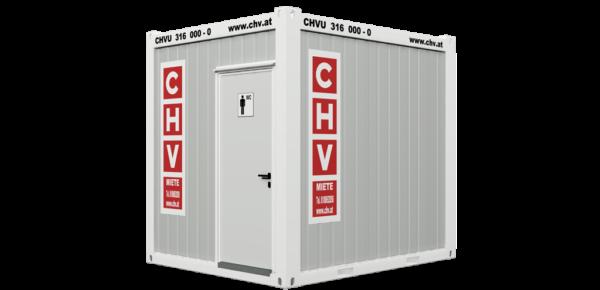CHV-150H WC Container Herren 10 Fuß