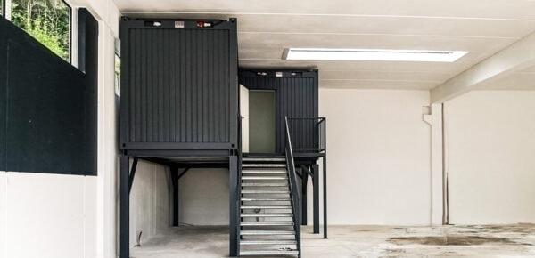 Wohn-Container Ansicht 4