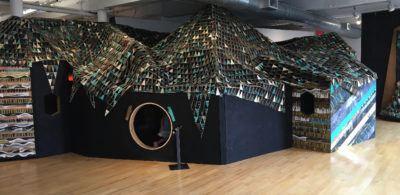 Courage, an installation at massmoca
