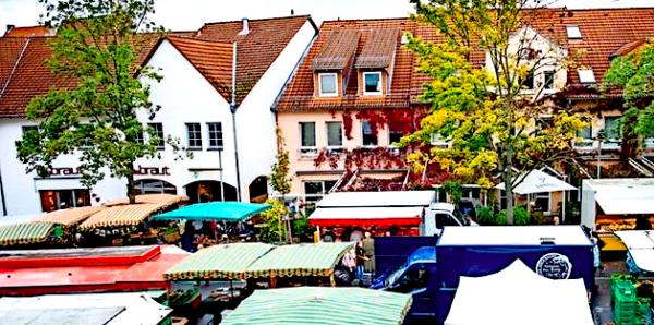Markt in Göttingen