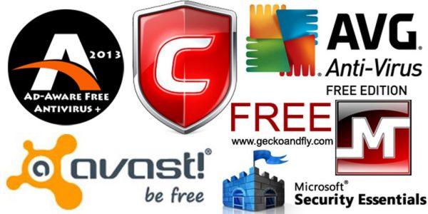 Een aantal bedrijven bieden gratis antivirus programma's aan.