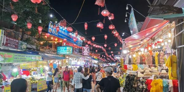 Marché de nuit Ile de Phu Quoc
