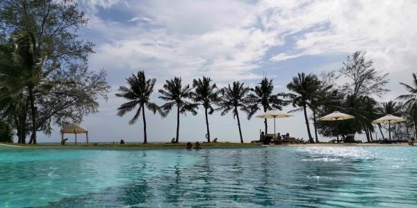 Piscine Shell resort Phu Quoc