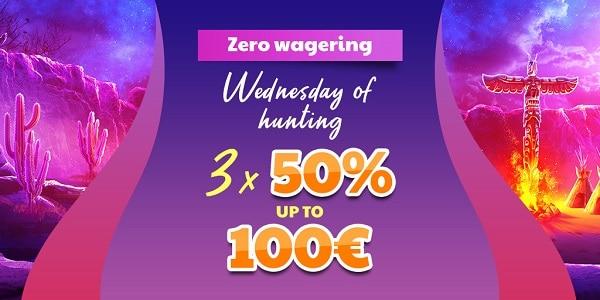 Zero Wager Bonuses