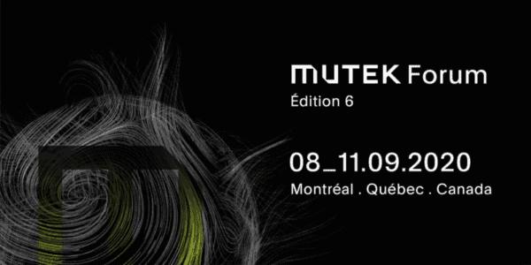 Mutek Forum Montreal 2020